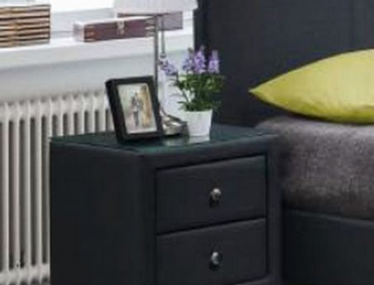 DOMINO 2 DRW BEDSIDE TABLE