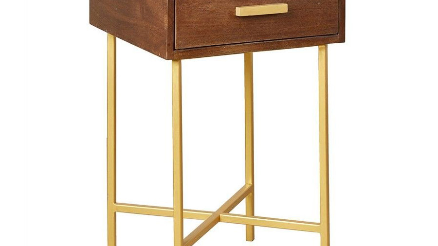 Bonnie Side Table with 1 Drawer