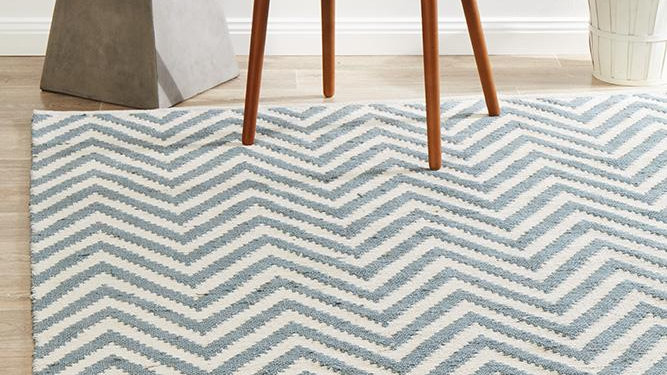 ABODE CHEVRON BLUE