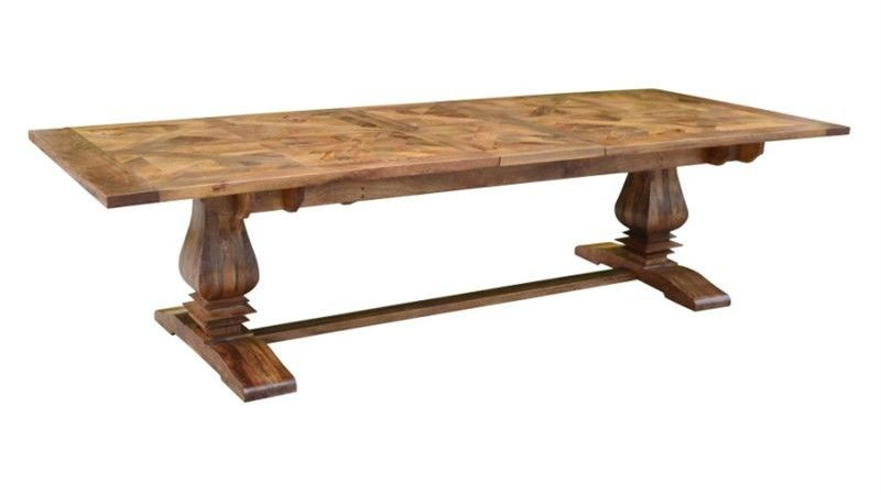 Kensington Parquetry 245 Dining Table