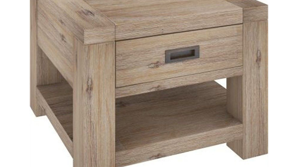 Oyster Bay Lamp Table with Drawer