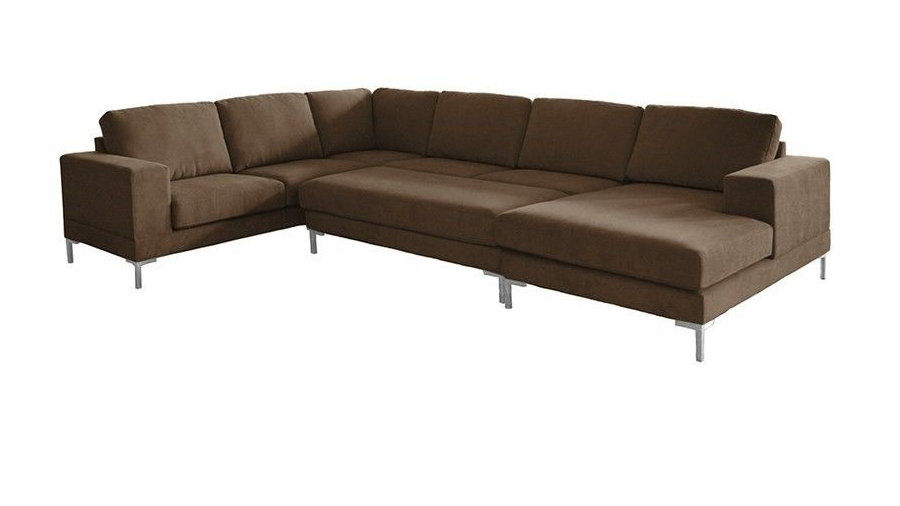Seattle RHF Chaise Corner Lounge with Ottoman