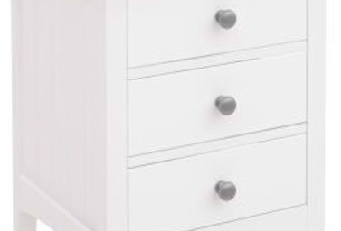 BRITTANY BEDSIDE 3 DRAWERS