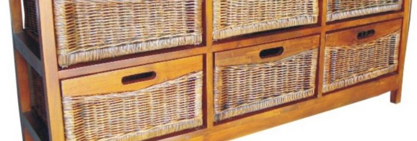 MEXICANA 6 D WIDE CABINET