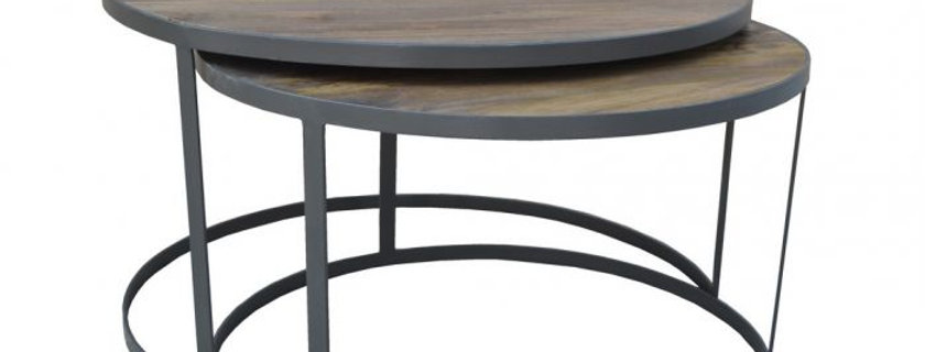 XABL ROUND COFFEE TABLE