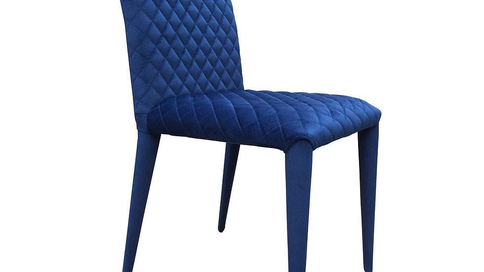 Scellacci Dining Chair Navy Velvet