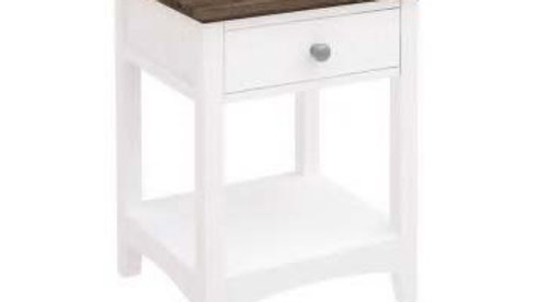 Brittany Bedside 1 Drawers