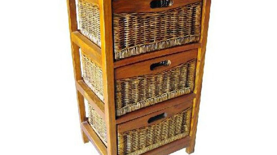 Mexicana 3 Drawers Cabinet