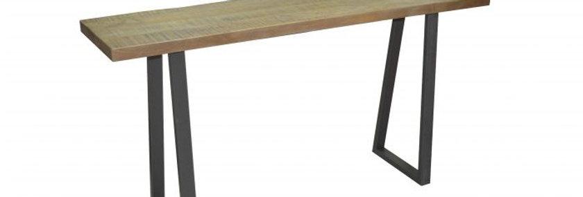 UNIQUE LIVE EDGE CONSOLE TABLE