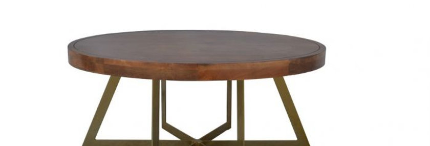 JACQUES OVAL COFFEE TABLE