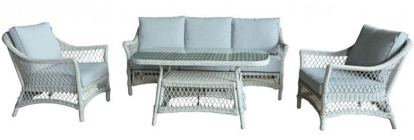 MADRID OUTDOOR 4PC LIVING SETTING