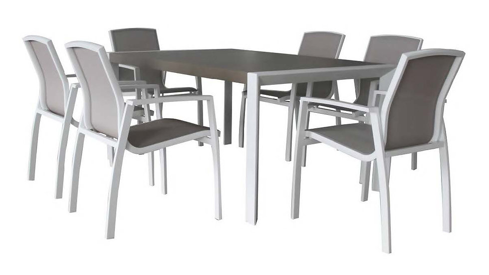 Oxford Dining Table 164cm Rec Dining Table