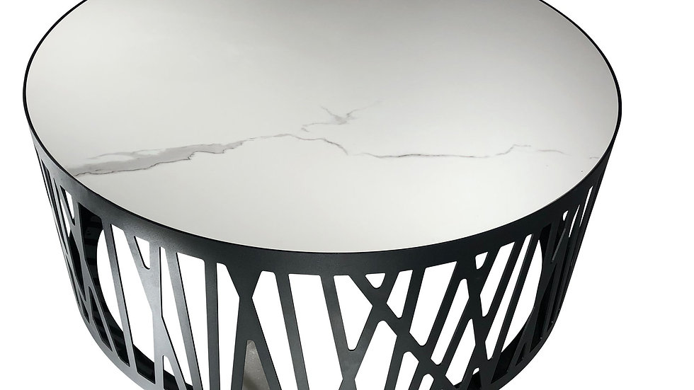 Macan Coffee Table White Porcelain