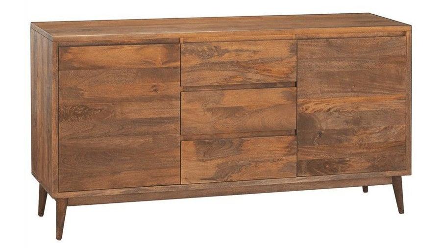 Retro Sideboard 2 Doors, 3 Drawers