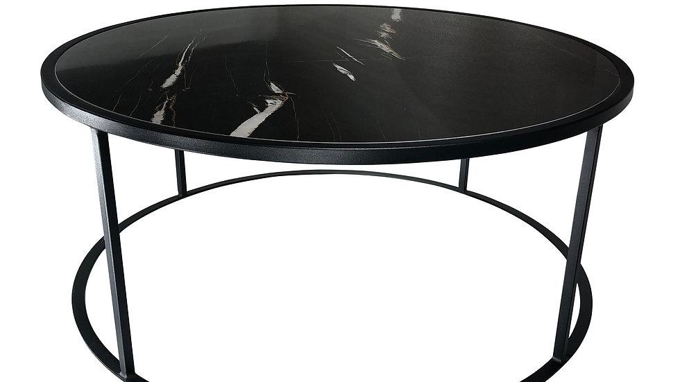 Carrera Coffee Table Black Porcelain