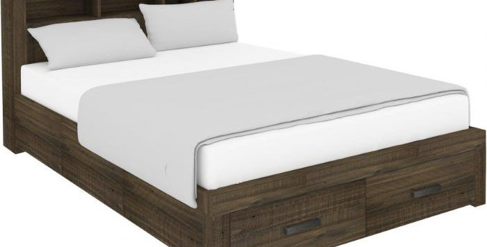 SEDONA QUEEN BED WITH STORAGE