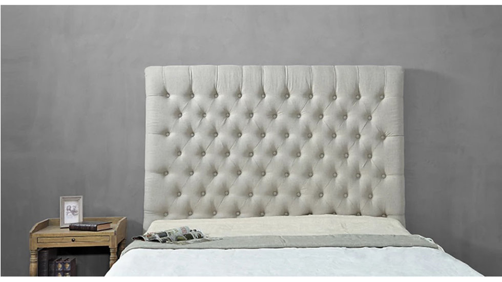 ARAGON HEADBOARD KING SIZE - OATMEAL