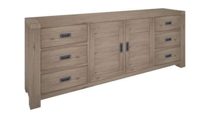 Oyster Bay Sideboard 6 Drawers, 2 Doors