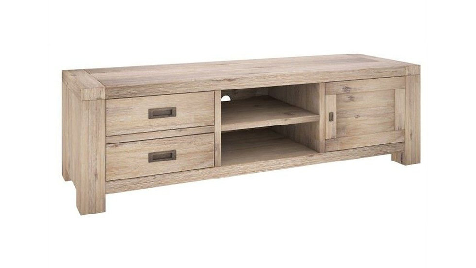 Oyster Bay TV Unit 2 Drawers & 1 Door