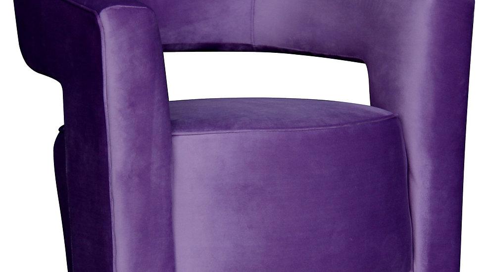 Paloma Swivel Chair Purple