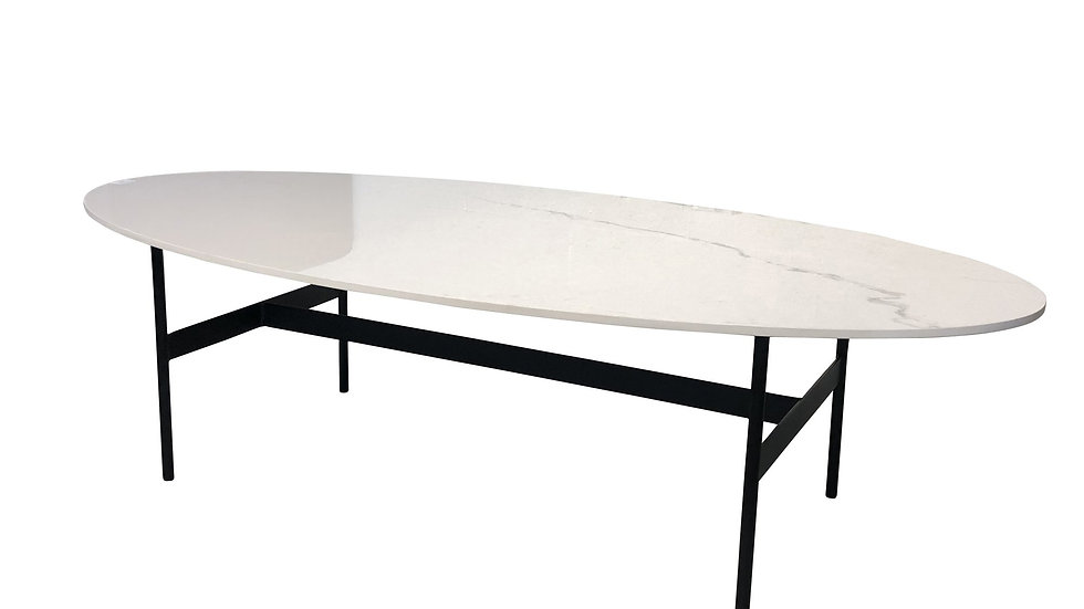 Boxter Coffee Table White Porcelain