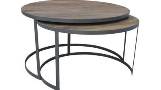 Xabl Round Coffee Table Set of 2