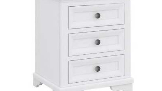 Vienna Bedside 3 Drawers