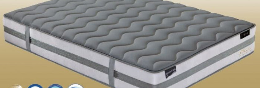 NATURE FRESH-FIRM GREY KNITTED FABRIC MATTRESS
