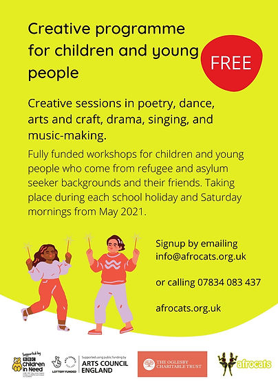Afrocats Creative Programme 2021 for Chi