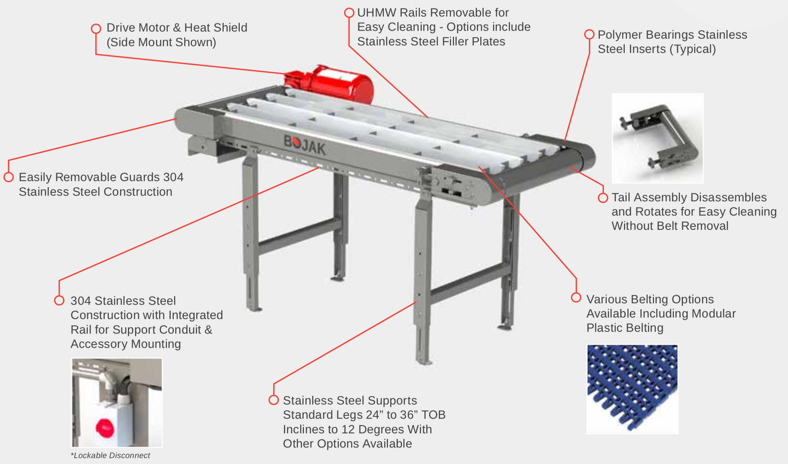 Intelli-Move Sanitary Conveyor