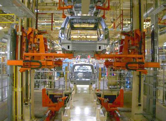 Pedestal Slat Conveyor