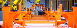 Wax Line Slat Conveyor