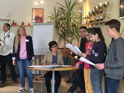 Junior startup day Graines Entrepreneurs CVCI Genilem pitch 3 atelier entrepreneur ecole ados enfant