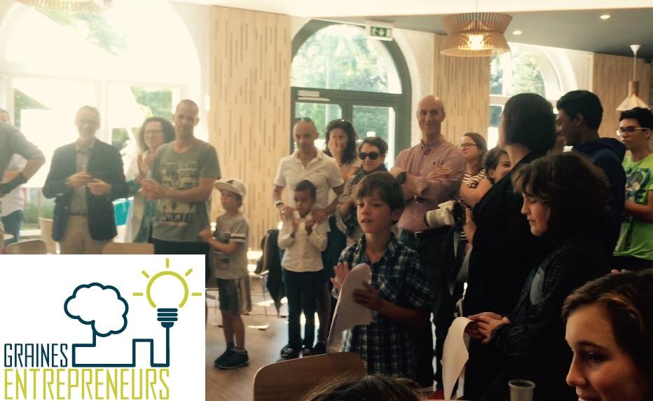 Graines d entrepreneurs junior startup day programme  entrepreneuriat innovation ados jeunes enfant