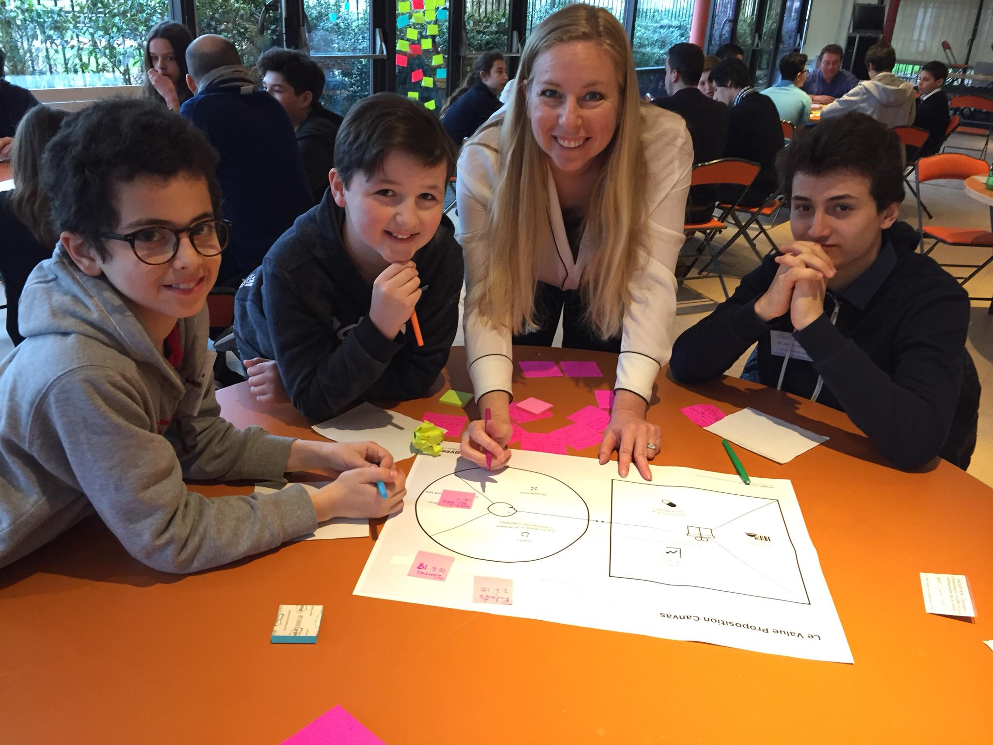 Graines Entrepreneurs France Paris atelier innovation entrepreneuriat junior hackathon generation en