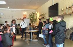 Junior startup day Graines Entrepreneurs CVCI Genilem pitch 1 atelier entrepreneur ecole ados enfant