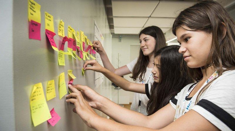 Graines d'entrepreneurs junior ados enfants stage atelier vacances entreprendre sierre valais suisse