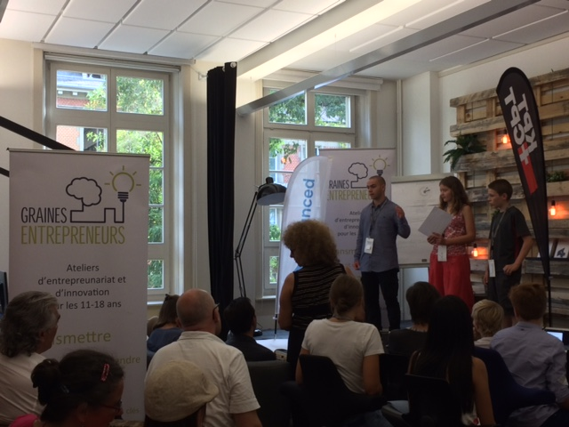 Junior startup day Bern innov entrepreneurs graines entrepreneurs be advanced unternehmertum jugendl