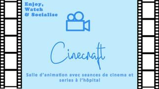 CINE CRAFT - Salle d'art et jeux ouvertes 24h/24h avec seance de cinema et séries ensemble .jpg