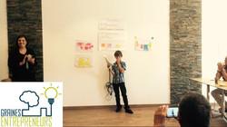 Graines d entrepreneurs junior startup day pitch gagnant programme  entrepreneuriat innovation ados