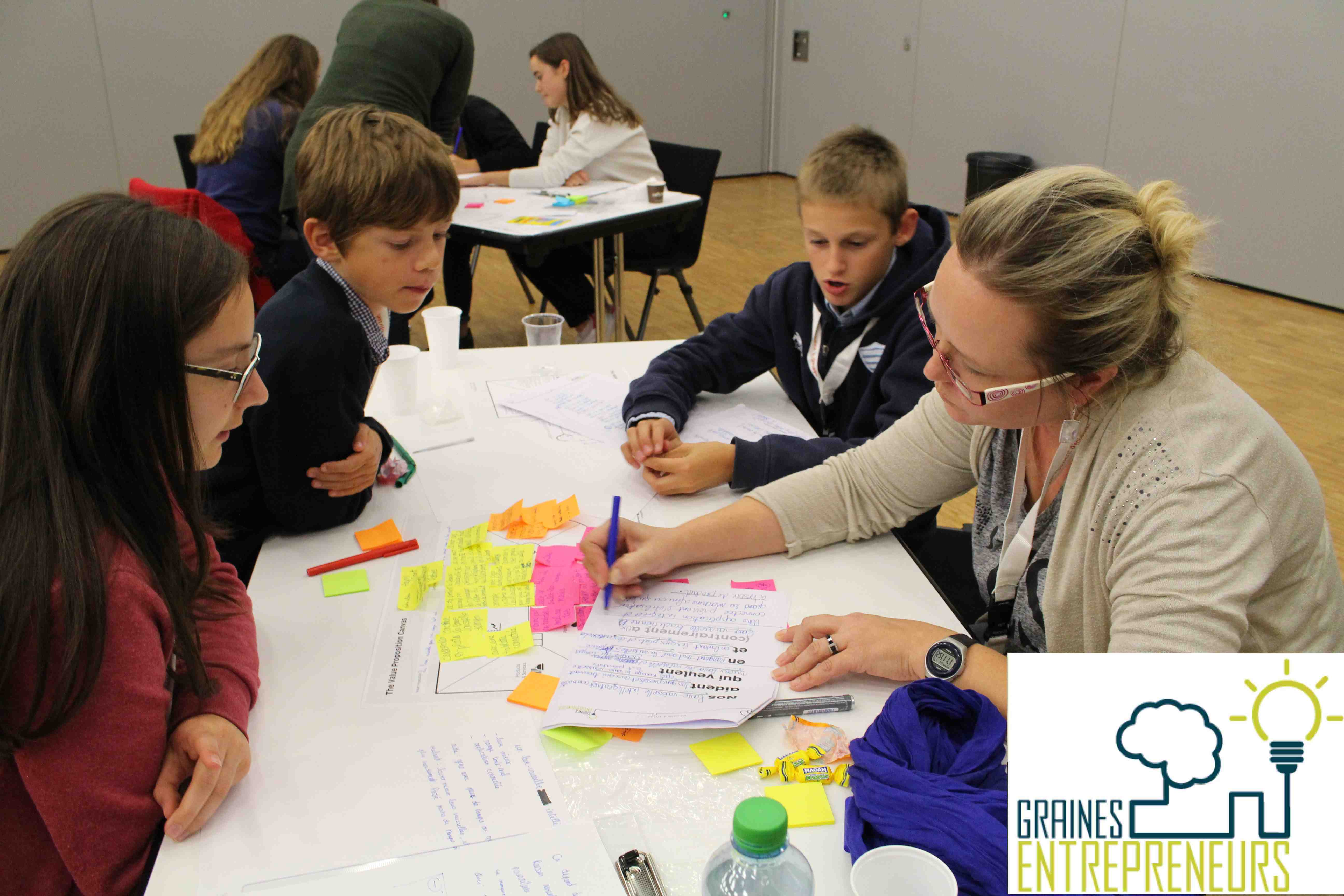 Graines d entrepreneurs Junior startup day genilem FER geneve coach entrepreneuriat innovation enfan
