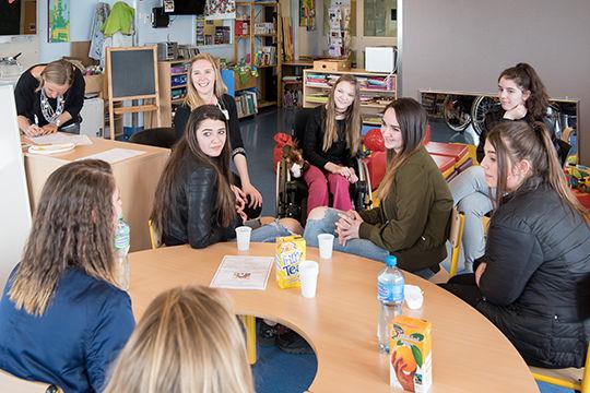 hôpital des enfants par les enfants chuv graines d'entrepreneurs Children hospital lions club