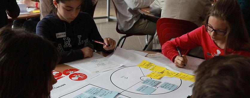 Graines d'entrepreneurs le temps entreprenariat enfants ados juniors ecole atelier extrascolaire