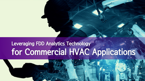 Leveraging FDD Analytics Technology for Commercial HVAC Applications