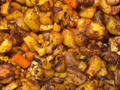 Indian Spiced Roast Veg