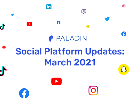 New Features on Social Media | March 2021