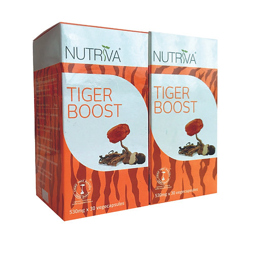 Nutriva Tiger Boost Twin | Cough, Cold & Sinus