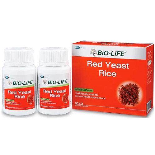 BiO-LiFE Red Yeast Rice (2X30S)