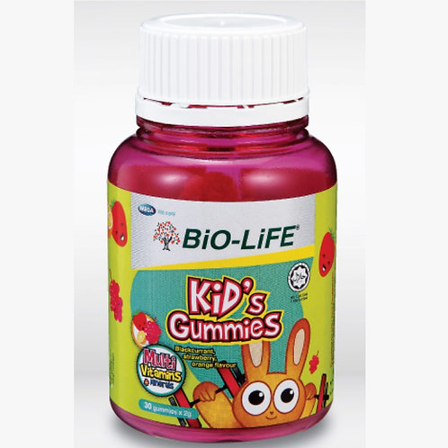 BiO-LiFE Kid's Gummies Multivitamins + Minerals (30S)