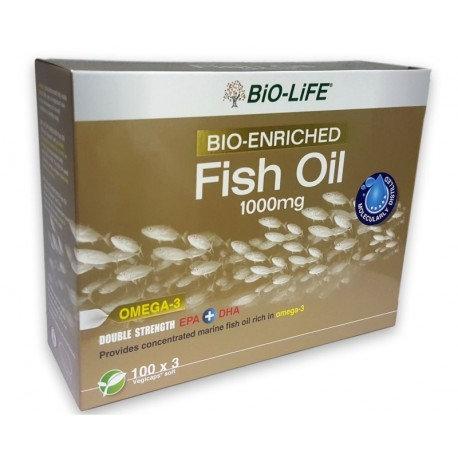 BiO-LiFE Bio-Enriched Fish Oil 1000mg (3X100S)